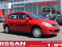 2012 Nissan Versa S AUTO LOW KMS NO ACCIDENTS
