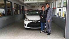 Merci au personnel de Vimont Toyota Laval!!