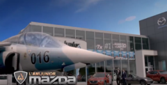 toujours plus haut avec l'ami Junior Mazda!