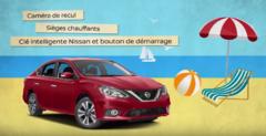 L'ami Junior Nissan - Équipé pour l'été Sentra 2017