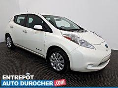 Nissan  Leaf 2016  Automatique - AIR CLIMATISÉ - Groupe Électrique