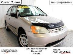 Honda Civic DX ECONOMIQUE 5 VIT WOW 2002