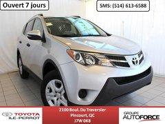 Toyota RAV4 LE AWD UPGRADE, A/C, CAM RECUL, BLUETOOTH 2013