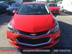 2018 Chevrolet Cruze LT  - $168.65 B/W