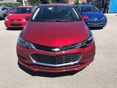 2018 Chevrolet Cruze LT  - $164.13 B/W