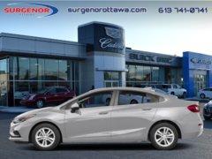 2018 Chevrolet Cruze LT  - $160.32 B/W