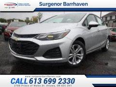 Chevrolet Cruze LT  - Heated Seats -  Bluetooth - $140.50 B/W 2019