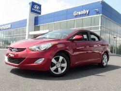Hyundai Elantra GLS TOIT MAGS FOGS AC ÉQUIPEMENT COMPLET BALANCE DE GARANTIE HYUNDAI 08/03/2020 OU 160 000 KM COMPLET 2012