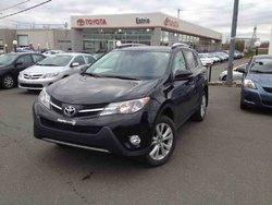 Toyota RAV4 AWD Limited CERTIFIÉ CUIR GARANTIE PROLONGÉE  2013