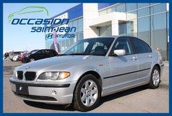 BMW 3 Series 325i ** TRÈS PROPRE **  2004