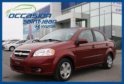 Chevrolet Aveo LT **AUT. BAS KILOMÉTRAGE**  2009