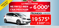 Achetez le Kia Rondo LX BM 2015 à 19 575$