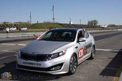 La Kia Optima de Chambly Kia à Sanair!