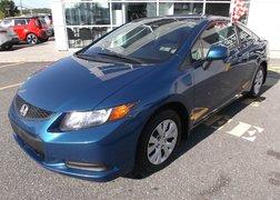 Honda Civic Cpe LX gr. électrique + blue tooch 2012 démarreur et pneu d'hiver inclus