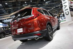 The 2017 Honda CR-V showcased at the Montreal Auto Show - 31