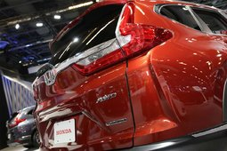 The 2017 Honda CR-V showcased at the Montreal Auto Show - 32