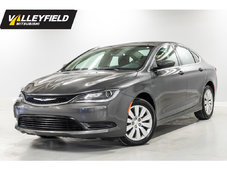 2016 Chrysler 200 LX Plusieurs choix en inventaire!