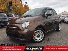 Fiat 500 POP MANUELLE 29$/SEM 41 728 KM SEULEMENT 2012