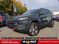 2017 Jeep Cherokee TRAILHAWK 118$/SEM CRUISE ADAPTATIF,NAVIGATION