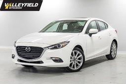 Mazda Mazda3 GT Automatique, toit ouvrant, GPS! Neuf! 2017