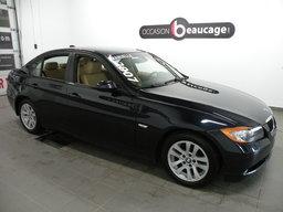BMW 3 Series 2007 328XI / AWD / CUIR / SIÈGES CHAUFFANTS / JANTES / GROUPE ÉLECTRIQUE COMPLET AVEC A/C