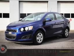 Chevrolet Sonic 2013 AUTO - A/C - LT - GARANTIE - COMPACT A/C - CRUISE - BLUETOOTH - GROUPE ÉLECTRIQUE!
