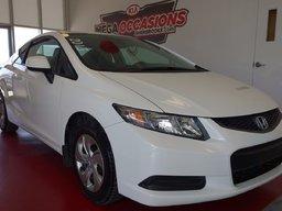 Honda Civic Cpe 2013 LX ** INSPECTE / A/C / GARANTIE** REGULATEUR DE VITESSE