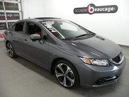 Honda Civic Sedan 2014 SI / 4 PORTES / NAV. / TOIT / CAMÉRA DE RECUL / DÉMARRAGE SANS CLÉ / SIÈGES CHAUFFANTS / VITRES TEINTÉES