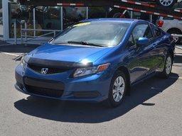 Honda Civic 2012 LX*AC*CRUISE*GR.ELECTRIQUE*BLUETOOTH*