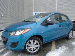 2012 Mazda Mazda2 AUTOMATIQUE A/C BAS MILAGE PRET POUR HIVERS