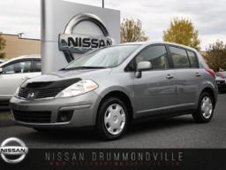 Nissan Versa 2009 1.8 S - BAS MILAGE - JAMAIS ACCIDENTÉ - AUBAINE! 76 022 KM! CD/MP3 - PROTÈGE-CAPOT
