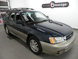 Subaru Outback 2003 AWD / GROUPE ÉLEC. AVEC A/C / SIÈGES CHAUFFANTS / RÉGULATEUR DE VITESSE / LECTEUR CD / JANTES