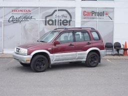 Suzuki Grand Vitara JX 1999 INSPECTÉ