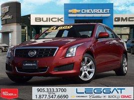 2014 Cadillac ATS 2.0L TURBO/AWD/SUNROOF/CPO