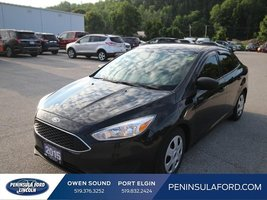 2015 Ford Focus S  BLACK BEAUTY, 5 SPD MANUAL!!!