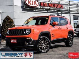2016 Jeep Renegade 75th Special - No Accident, 4x4, Removable Sunroof