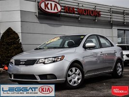 2012 Kia Forte LX - Low KM! Bluetooth, S/W Mounted Call & Audio!