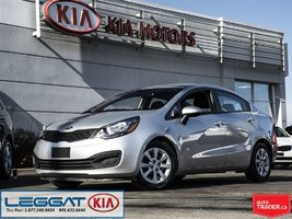 2015 Kia Rio EX - Bluetooth, Heated Seats, VERY Low KM!