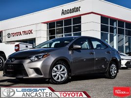 2014 Toyota Corolla LE - ONLY 37582 KMS!!