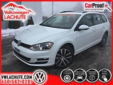Volkswagen Golf Sportwagon COMFORTLINE+177$/2SEM TX INC 84 MOIS 0.99% 2017