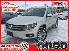 Volkswagen Tiguan HIGHLINE+AUCUN CARPROOF+53, 642KM+TOIT+CUIR+ 2014