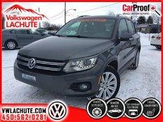 Volkswagen Tiguan COMFORTLINE+SPORT+PHARES BI-ZÉNON+ROUES 18 PO.+ 2014