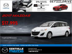 Mazda - Save Big on the New 2017 Mazda5 GS Today!