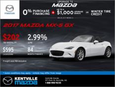 Mazda - Get the 2017 Mazda MX-5 GX Now!