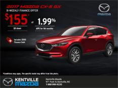 Mazda - Get the 2017 Mazda CX-5 today!