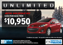 Mazda - Get the 2014 Mazda2 GX for $10,950