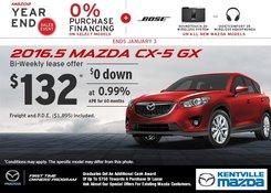 Mazda - 2016.5 Mazda CX-5 GX -- Get it Today!