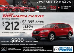 Mazda - Save on a New 2016 Mazda CX-9 GS Today