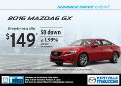 Mazda - Lease the 2015 Mazda6 GX for $149