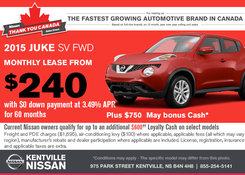 Nissan - Save on a brand-new 2015 Nissan Juke today!